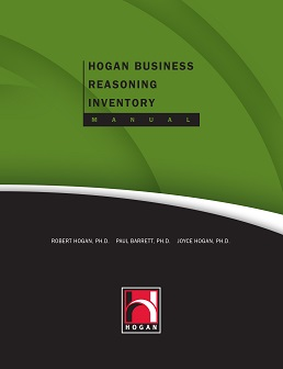 Hogan Business Reasoning Inventory Manual