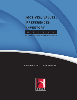 Motives, Values, Preferences Inventory Manual