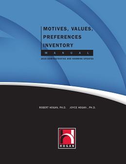 Motives, Values, Preferences Inventory Manual